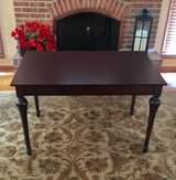 Brown table/large desk in Naperville, Illinois