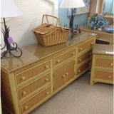 Wicker Dresser Henery Link 2286-18 in Camp Lejeune, North Carolina