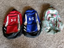 Under Armour Backpack and Pottery Barn Kids Girl backpack in Naperville, Illinois