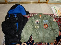 5T CK jacket and Airman jacket in Travis AFB, California