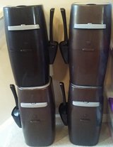 4 Used Litter Genie Pails ONLY (no refill cartridges) with litter scoop and holder in Naperville, Illinois