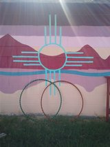 Handmade hula hoops in Alamogordo, New Mexico