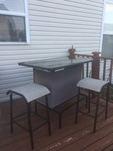 Outdoor/Patio Bar and 2 Bar Stools in Naperville, Illinois