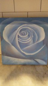Blue Flower No Frame on canvas in Wilmington, North Carolina
