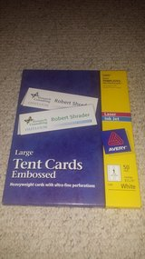 Avery Large Embossed Tent Cards (2 packages available) in Glendale Heights, Illinois