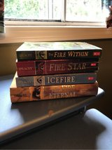 Set of 4 books, Author Chris D'Lacey, Dragon Series in Naperville, Illinois