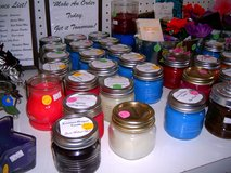Candles galore in Leesville, Louisiana