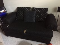 Black Sofa (2 seater) in Chicago, Illinois