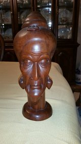 Wood carving head in Cleveland, Texas