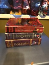 Inkheart books, Trilogy, Inkspell and Inkdeath in Naperville, Illinois