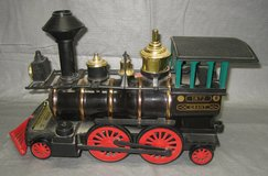JIM BEAM #197 GRANT LOCOMOTIVE PORCELAIN DECANTER in Joliet, Illinois
