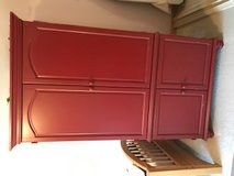 Armoire purchased at JC Penney in Naperville, Illinois