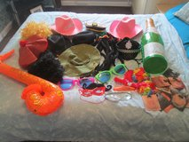 BIG BUNDLE OF PHOTO BOOTH/PARTY DRESS UP ACCESSORIES in Lakenheath, UK