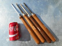 4 CRAFTSMAN Wood Lathe Chisels in Travis AFB, California