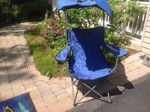 Folding chair with sun roof in Naperville, Illinois