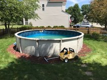 18'round Swimming Pool and Pump in Naperville, Illinois