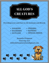 All God's Creatures Pet Care in Naperville, Illinois
