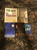 Set of 5 books, Meditation,Autobiography, Hostory and Novels in Naperville, Illinois