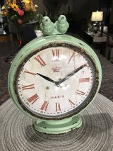 Adorable Blue/Green Clock in Naperville, Illinois