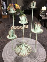 Blue / Green Candle Holder in Naperville, Illinois