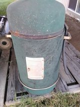 Charcoal smoker in Fort Riley, Kansas