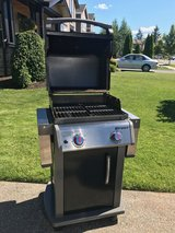 PRICE REDUCED!!! Weber Spirit Propane Grill and cover in Fort Lewis, Washington