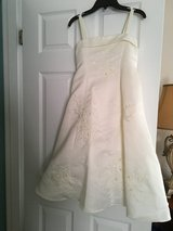 Mini bride dress in Aurora, Illinois