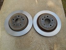 2 Cadillac CTS CTS-V Rear Brake Rotor 2008 thru 2014 GM part # 15267108 in Aurora, Illinois