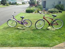 Two bicycles in Tacoma, Washington