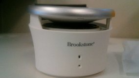 Brookstone Bluetooth Drum Speaker in Quad Cities, Iowa