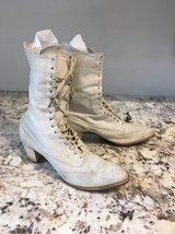 Vintage lace up boots in Beaufort, South Carolina
