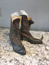 Vintage Victorian lace up boots in Beaufort, South Carolina