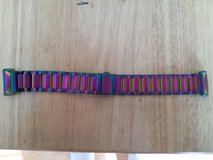 Fitbit charge 2 stainless steel multicolor band in Fort Campbell, Kentucky