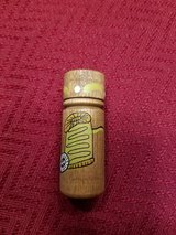 Wooden hand painted needle holder in Glendale Heights, Illinois