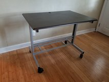 "40"" Mobile Adjustable-Height Stand Up Desk in Beaufort, South Carolina"