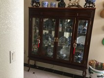Mahogany Display Cabinet in Alamogordo, New Mexico