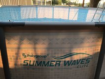 *Reduced* 14 ft. Polygroup Summer Waves Elite Above Ground Pool in Alamogordo, New Mexico