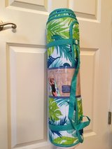 NWT WIDE Roll Up Beach Mat & Pillow in Joliet, Illinois