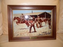 Frederic Remington's Coming and Going of the Pony Express in Schaumburg, Illinois