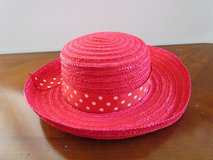 Red Straw Hat in Bartlett, Illinois
