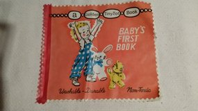 Vintage Baby's First Book - Golden - Washable in Naperville, Illinois