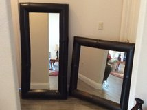 TWO MATCHING DARK BROWN BAMBOO MIRRORS in Alamogordo, New Mexico