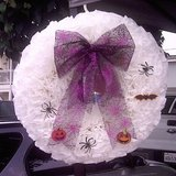 WREATH 17 inches, WHITE,  BEAUTIFUL in Camp Pendleton, California