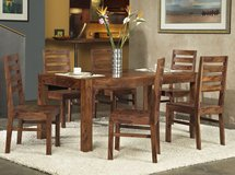 SALE! 30-50% OFF RETAIL! SOLID WOOD 7PC UPSCALE DESIGNER DINING SET! in Camp Pendleton, California