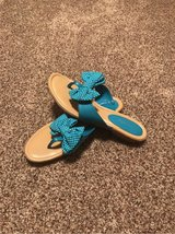 turquoise sandals in Fort Riley, Kansas