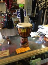 Toca hand percussion in Fort Campbell, Kentucky