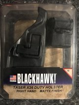 Blackhawk X26 Taser holster with extra cartridge holder in Fort Polk, Louisiana