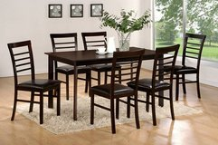 SALE! 30-50% OFF RETAIL! ALL MUST GO! 7PC WOOD DINING SET! in Camp Pendleton, California