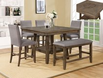 INVENTORY SALE! UPSCALE SOLID MADE PEDESTAL DINING SET W/ BUILT IN LAZY SUSAN! in Camp Pendleton, California