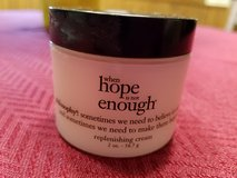 NEW Philosophy, Hope is not enough replenishing cream in Naperville, Illinois